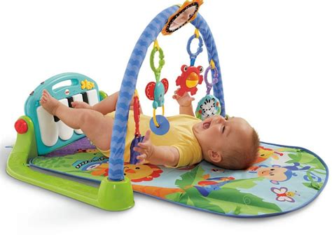 fisher price playmat piano kick and play