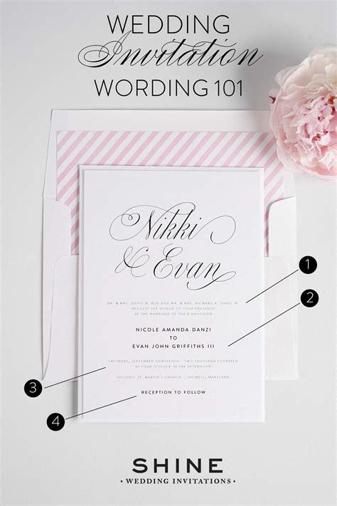 wedding invitation wording wedding invitations