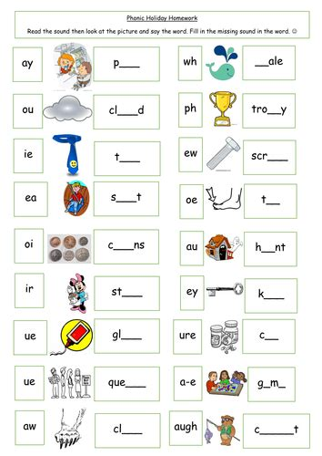 Phase 5 Phonic Overview  Word Work  Pinterest  Phonics, School And Activities