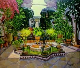 patios andaluces pintados al 243 leo