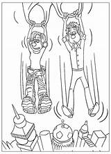 Parachute Coloring Homemade Coloriage Colorkid sketch template