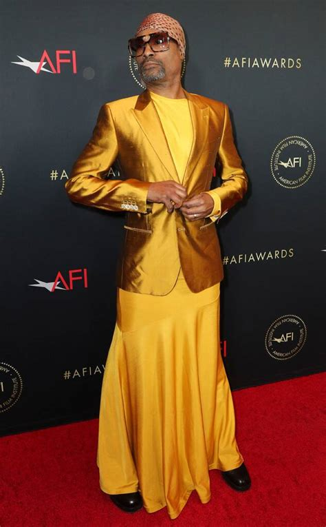 Billy Porter From Afi Awards Red Carpet Fashion