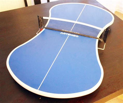 cuisine simulation mini table ping pong pliable artengo luckyfind