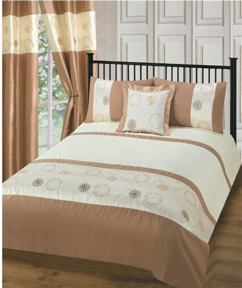 beige duvet cover beige colour stylish embroidered design duvet quilt cover