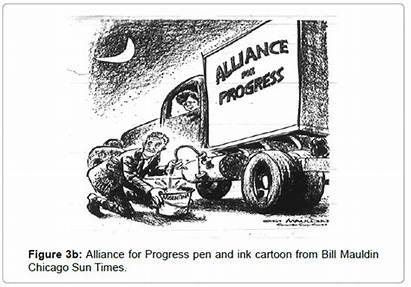 Progress Alliance Cartoon Bill Political Mauldin Chicago