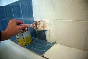 peindre du carrelage mural conseils pour la realisation With peindre du carrelage mural