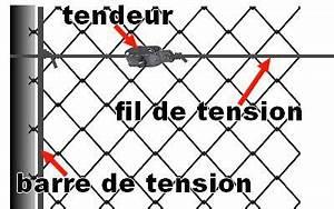 Poser Du Grillage : cloture grillag e de jardin poser une limite en grillage ~ Premium-room.com Idées de Décoration