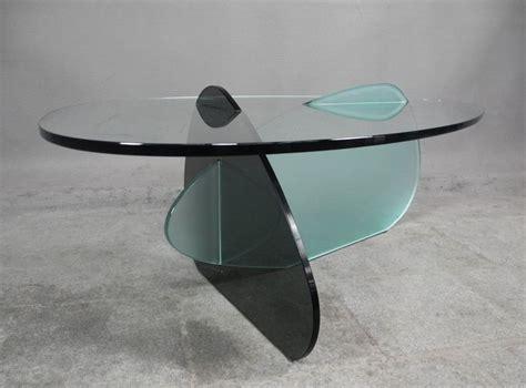 salontafel kat karim rashid voor tonelli design glazen salontafel kat