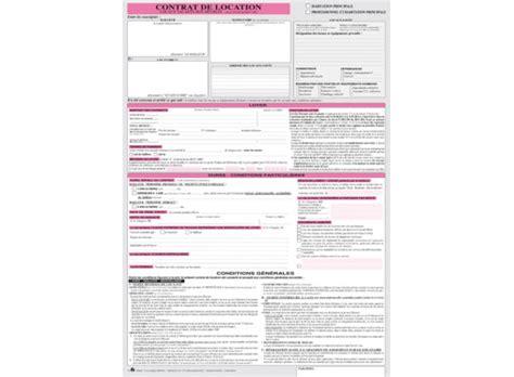 Contrat De Location Locaux Meubles Contrat De Location Locaux Vacants Non Meubl 233 S A3 Tripli