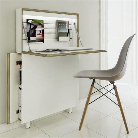 bureau etroit pour entree petit bureau gain de place 25 modèles pour votre