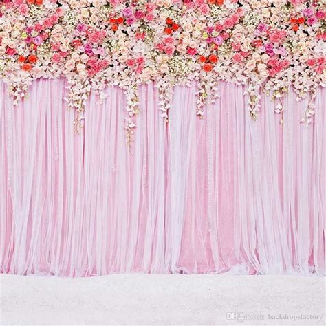 acquista digital stampato colorful roses pink curtain