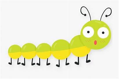 Clip Spring Bug Caterpillar Cartoon Clipart Clipartkey