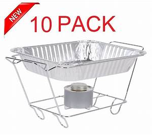 10 Pack Buffet Chafer Food Warmer Wire Frame Stand Rack