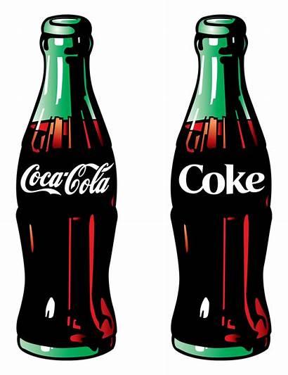 Cola Coca Coke Clipart Artworks Bottle Bottles