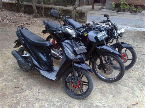 Modifikasi Motor Indonesia by Modifikasi Motor Indonesia Black Motor Modification