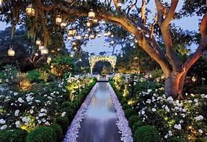 Wedding Day Look: Enchanted Garden Affair - Belle The Magazine