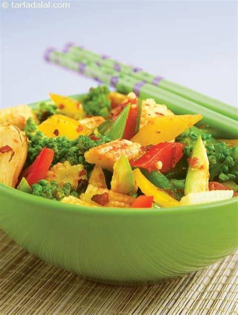 I am lucky my kids love tofu and quinoa! Schezuan Style Stir-fried Vegetables ( Diabetic Recipe )