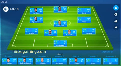 Soccer Manager Best Tactics by The Best Tactic For 433b Formation Soccer Manager
