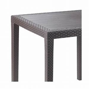 Table En Resine. table jardin r sine tress e. table resine tressee ...