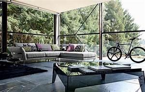 canapes sofas et divans modernes roche bobois With tapis de sol avec canapé d angle roche bobois soldes