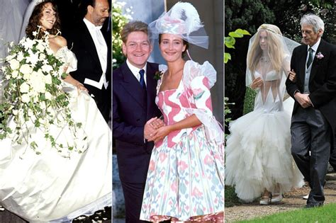 10 Celebrity Wedding Dress Disasters