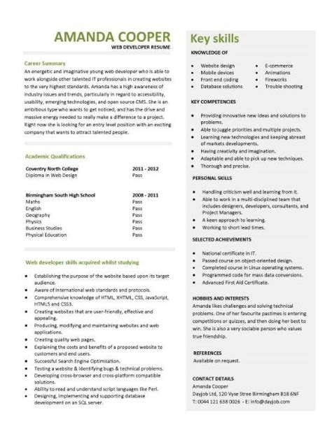 entry level microsoft jobs it cv template cv library technology job description