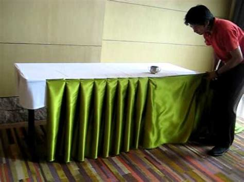 table cloth skirting design decorating for wedding receptions table skirting musica