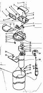 Kenmore Model 62534712 Water Softener Genuine Parts
