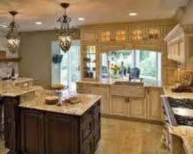 Tuscan Country Kitchen Design Ideas