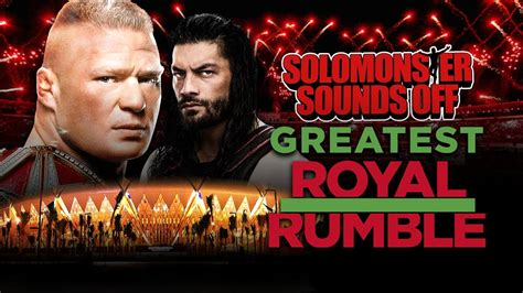 Wwe Greatest Royal Rumble Full Show Review  First Ever 50