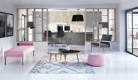 aménagement cuisine ouverte sur salle à manger 5 idées pour séparer la cuisine du salon travaux com