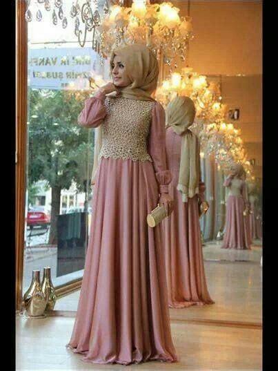 inspirasi desain gaun pesta muslim fashionable terbaru