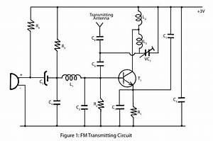 Simple Fm Transmitter  U2013 Electronics Project