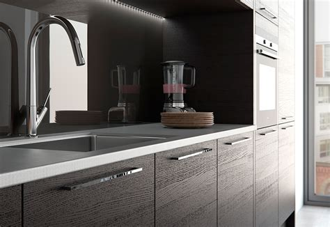 Tavola Modern Hacienda Black & Light Grey   Kitchen Stori