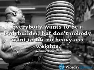 Ronnie Coleman Bodybuilding Quotes