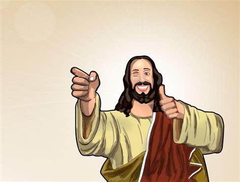 Buddy Christ Meme - notes from a chair ya gotta have faith