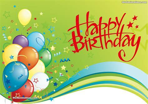 Happy Birthday Balloons Hd Wallpaper 9to5animationscom