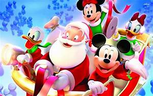 Mickey Mouse Christmas Backgrounds - Wallpaper Cave