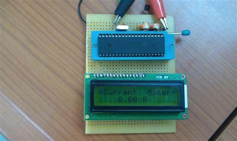 ham radio mipl ammeter using pic16f877