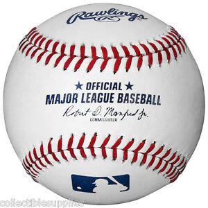 RAWLINGS MAJOR LEAGUE BASEBALL MLB OFFICIAL GAME BALL w ...