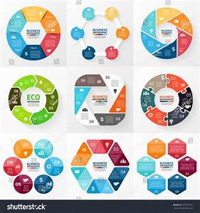 Vector Circle Infographic Template Cycle Diagram Stock Vector 247327021