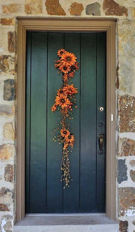 diy fall door decorations diy ready