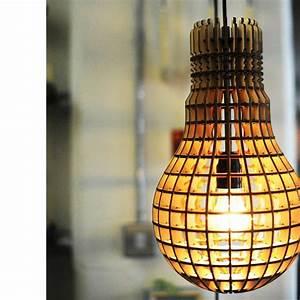 Lampe Aus Holz : design lampe gl hbirne aus laser geschnittenem schichtholz online kaufen ~ Eleganceandgraceweddings.com Haus und Dekorationen