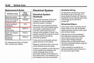 2001 Chevy Impala Service Wiring Diagram Interior Lighting