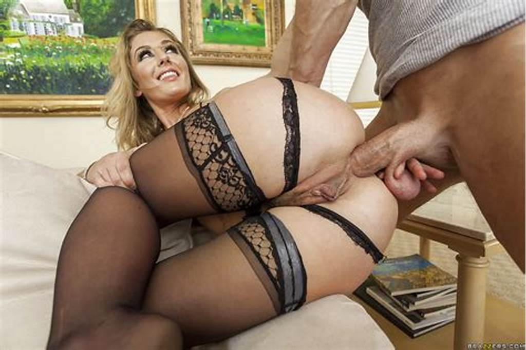#Perky #Blondie #In #Stockings #Has #Some #Face #Sitting #And #Anal