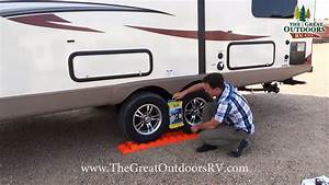 Electric Leveling Jacks For Class C Motorhome