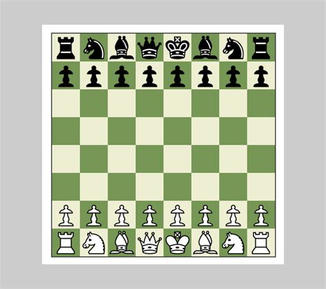 chess layout blank chess board layout bing images