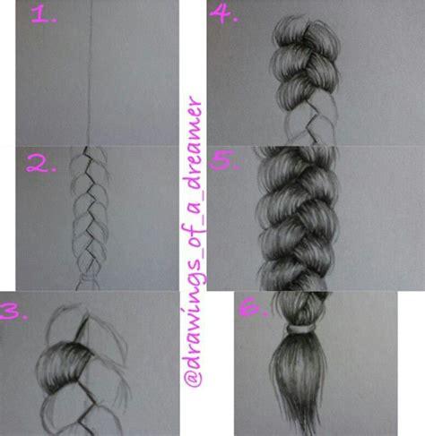 draw  braid step  step lets  pinterest buddy