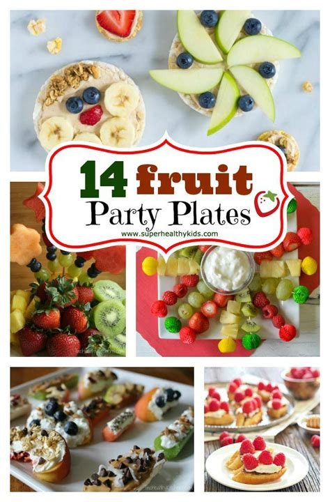 Fruit Party Plates Healthy  Ee  Ideas Ee   For Kids