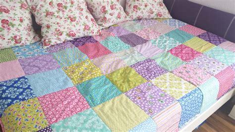 patchworkdecke ohne laestiges zuschneiden handmade kultur